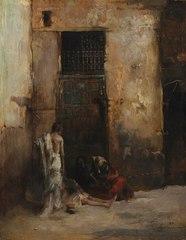 Beggars by a Door