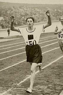 Marie Dollinger German track and field athlete