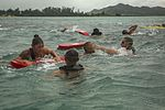 Marine Corps Instructor Course of Water Survival conduct open water rescue exercise 151209-M-ZO893-089.jpg