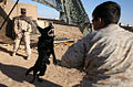 Marines canine unit training in Afganistan.jpg