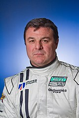 Mark Blundell przed Rolex Series Test w 2011 roku