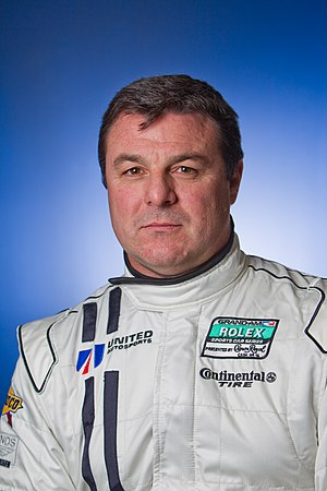 Mark Blundell - Portrait of Blundell