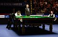 Mark Selby, Shaun Murphy and Marcel Eckardt at Snooker German Masters (DerHexer) 2015-02-08 01.jpg