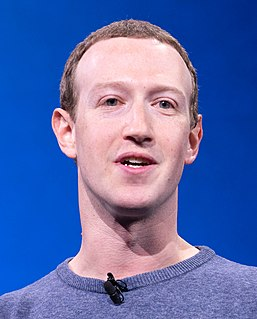 Mark Zuckerberg American internet entrepreneur and founder of Facebook