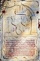 Marmortafel in Unterfederraun bei Villach, Bambergische Gedenkinschrift 1575.jpg