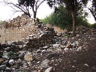 Kafr Bir'im - Ruins of the depopulated village