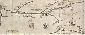 Louis Jolliet - Ca. 1681 map of Marquette and Jolliet's 1673 expedition.