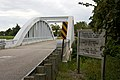 Marsh arch bridge sign, Route 66, KS.jpg