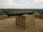 Marudhupandiyan fort in thirumayam