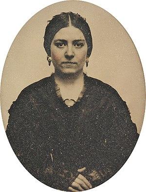 Mary Ann Brown Patten - Mary Ann Patten c. 1857