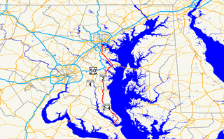 Maryland Route 2 State highway in Maryland, US