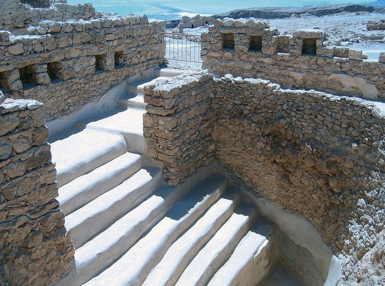 Masada öffentliches Schwimmbad - vergrößerbar