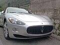 Maserati GranTurismo 4.2 V8 405CV (Silver, front).jpg