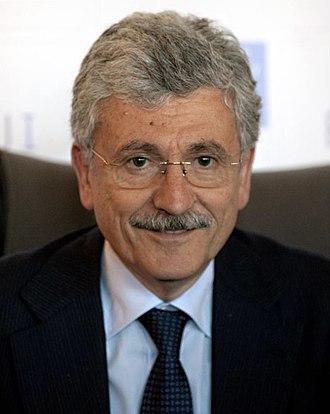 Massimo D'Alema - Image: Massimo D'Alema (8812707342) cropped