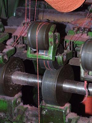 Doubling (textiles) - Image: Masson Mills WTM 6 Doubling 5852