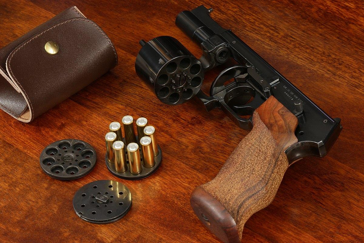 Marushin Mateba Revolver X-Cartridge Series (6mm Silver) - Buy ...