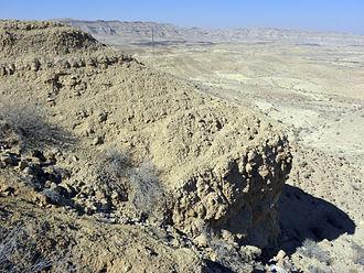 Callovian - Matmor Formation (Callovian, Peltoceras athleta Zone) in Makhtesh Gadol, Israel.