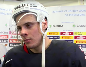 Auston Matthews - Matthews in 2016 with Team USA