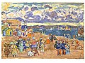Maurice Prendergast - Beach at Saint-Malo.jpg