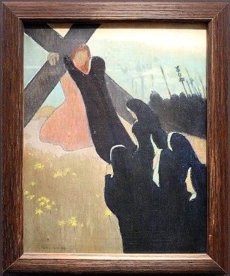 Maurice Denis - Image: Maurice denis, salita al calvario, 1889