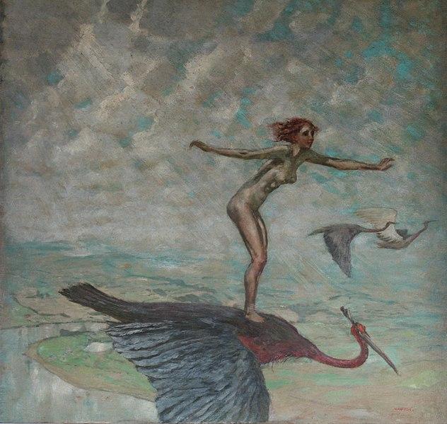 Max Frey - Wandervögel. ca. 1931