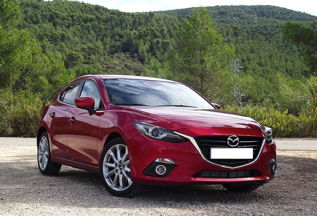 mit mazda3 mazda 3 axela 2014 2016 front grill sports unpainted. Black Bedroom Furniture Sets. Home Design Ideas