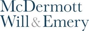 McDermott Will & Emery - Image: Mc Dermott Will & Emery logo