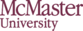 McMaster University wordmark.png