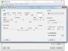 MeGUI/Guides/Calculating video bitrate - Wikibooks, open