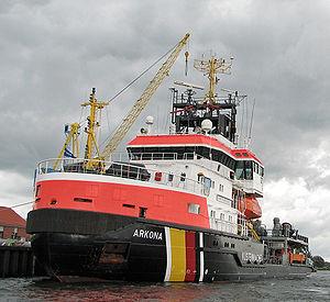 Coast guard -  Multi-purpose vessel Arkona of the German Federal Coast Guard