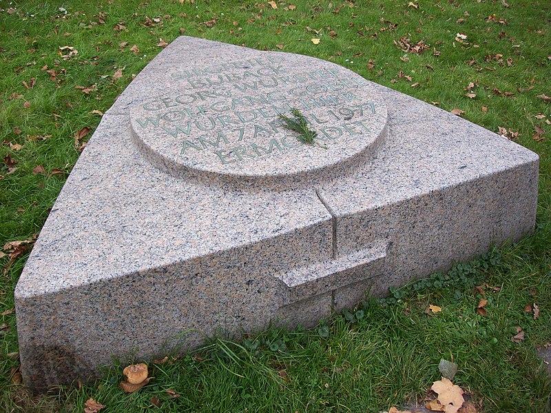 File:Memorial Stone for Siegfried Buback in Karlsruhe.jpg