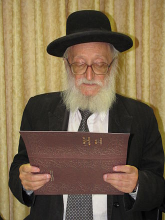 Mendel Weinbach - Rabbi Mendel Weinbach in 2010