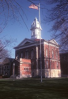 Menominee County Courthouse United States historic place