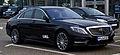 Mercedes-Benz S 350 BlueTEC AMG Line (W 222) – Frontansicht, 25. September 2013, Velbert.jpg