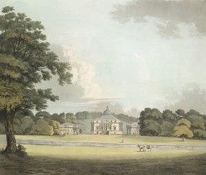 Mereworth Castle - Mereworth Castle in the 18th century