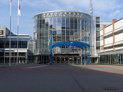 Kuinka päästä määränpäähän Helsingin Messukeskus käyttäen julkista liikennettä - Lisätietoa paikasta