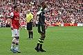 Mesut Özil and Steven NZonzi.jpg