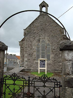 Methodist Church in Ireland - Image: Methodist Church in Ballintra geograph.org.uk 913401