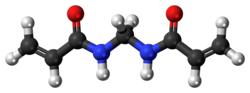Methylenebisacrylamide 3D ball.png