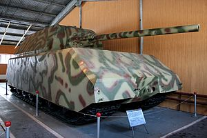 Panzer VIII Maus - The Maus prototype at the Kubinka Tank Museum, Russia (2009)