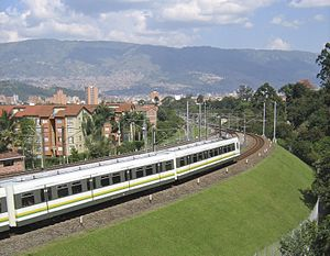 Metro de Medellin- Linea B sector San Javier
