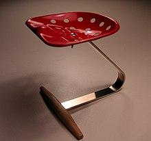 La sedia Mezzadro (1957)