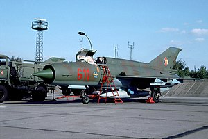 Mikoyan-Gurevich MiG-21 - MiG-21М National People's Army of the GDR, August 1990