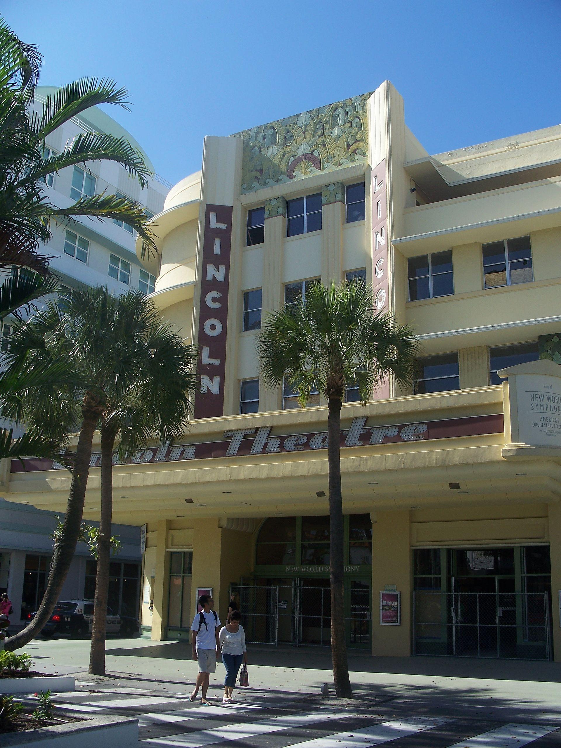 lincoln theatre miami beach florida wikipedia