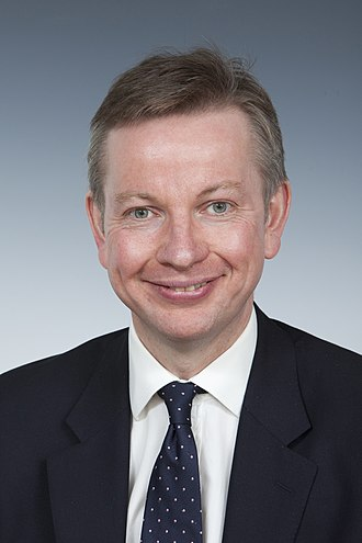 Michael Gove - Gove as Secretary of State for Education, c. 2012