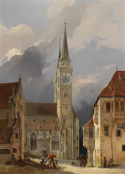 File:Michael Neher (circle) Marktplatz vor St Sebald.jpg