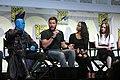 Michael Rooker, Chris Pratt, Zoe Saldana & Karen Gillan (28556611022).jpg