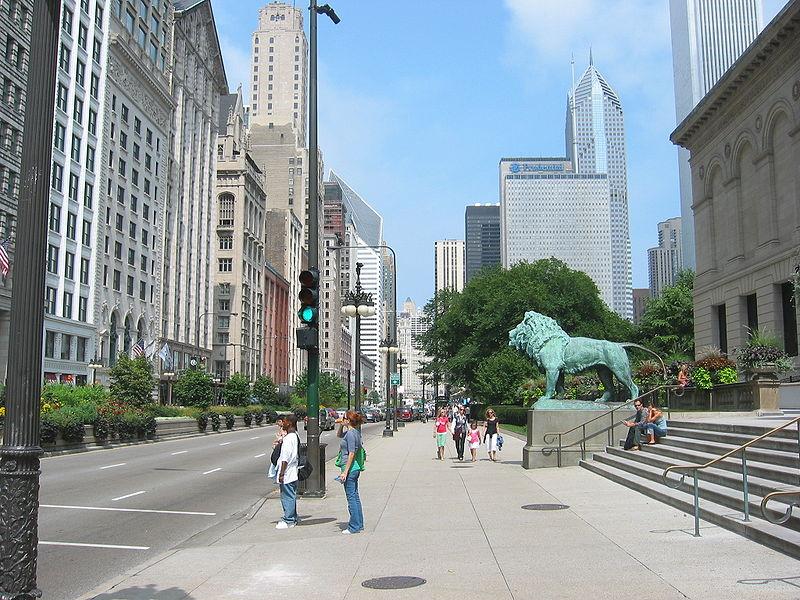 Transformers3 กับการถ่ายทำที่ Michigan Avenue