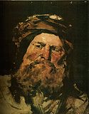 Mihaly Munkacsy Head of a Pharisee