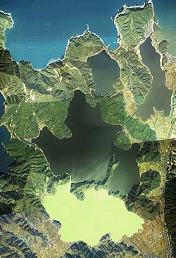 Mikata five lakes Aerial photograph.1975.jpg